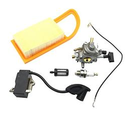 Flameer Carburetor for Stihl C1Q-S183 Carb with Air Filter F