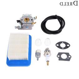DRELD Carburetor Carb with Gasket Air Filter Line Spark Plug