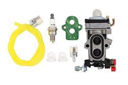 MOTOKU Carburetor Fuel Line Filter Spark Plug Tune-Up Kit fo