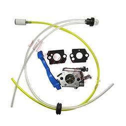 Carburetor & Fuel Line kit Grommet for Zama C1Q-W37 Husqvarn