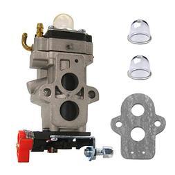 FitBest Carburetor with Primer Bulb Gasket for Walbro WYA-79