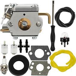 Dalom 791-182875 Carburetor w Air Filter Fuel Line for Bolen