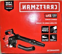 Craftsman CMXGAAMR27BL 27cc 2-Cycle Gas-Powered Handhelf Lea