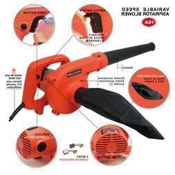 Toolman Corded Electric Leaf Blower Sweeper Vacuum Cleaner 5