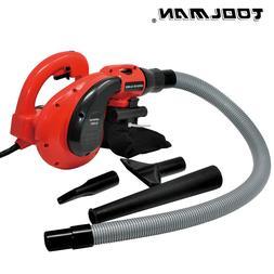 Toolman Corded Electric Leaf Sweeper Vacuum Blower 6 Speed 1