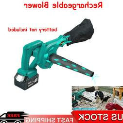 Cordless 2 in 1 Leaf Dust Blower Vacuum For Mikita 18V BL186