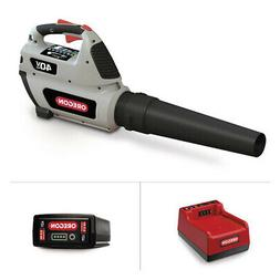 Oregon Cordless BL300 Leaf Blower Kit with 6.0 Ah Battery Pa