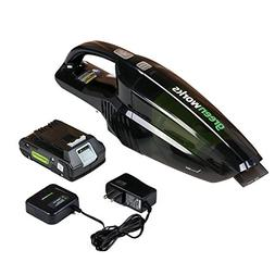 Greenworks 24V Cordless Handheld Vacuum, 2.0 AH Battery Incl