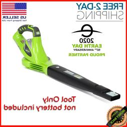 Cordless Leaf Blower 40V 150 MPH Variable Speed Tool Only, N