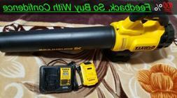 DEWALT Cordless Leaf Blower-DCBL720p1 W/4ah battery & Fast C