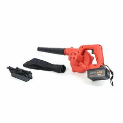 Cordless Leaf Blower Electric Hand Held Battery Powered 20 V