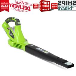 Greenworks Cordless Leaf Blower Garden Power Tools Variable
