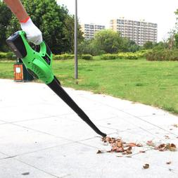 120MPH 20V Li-ion Battery Powered Cordless Leaf Blower Sweep