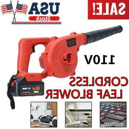 Cordless leaf blower With Battery And Charger And Variable S