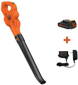 Cordless Leaf Blower Lawn Yard 20V MAX Li-ion Battery Leaves