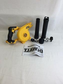 DEWALT DCE100B 20V MAX Blower for Jobsite, Compact, Tool Onl