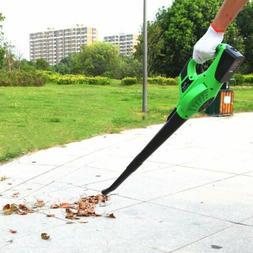 Electric Cordless 120 MPH 20V Leaf Blower Lawn Yard Sweeper