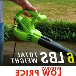 ELECTRIC CORDED LEAF BLOWER GREENWORKS, Lightweight Handheld