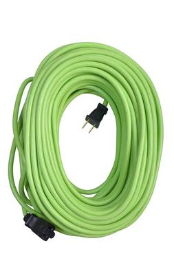 120 ft Electric Extension Cord Indoor Outdoor Lime Green 16/