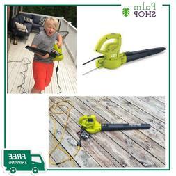 Electric Handheld Leaf Blower Sun Joe 155 MPH 200 CFM 6 Amp