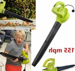 Electric Handheld Leaf Blower 155 MPH Lightweight 6 Amp Powe
