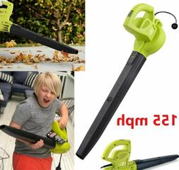 electric handheld leaf blower 155 mph lightweight