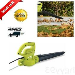 Electric Handheld Leaf Blower Lightweight 6-Amp 155 MPH Powe