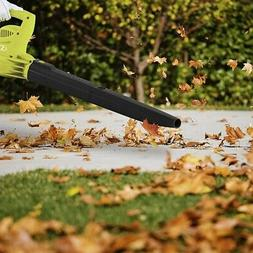 Electric Leaf Blower 2 Speed 10 Amp Powerful 215 Mph Sweepin