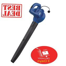 Electric Leaf Blower Handheld 155MPH Sweeper 6 Amp Lawn Yard
