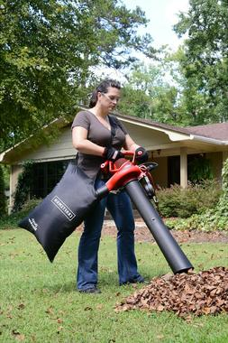 Leaf Blower Vacuum Machine 12-Amp Lawn Yard Mulcher Bag 2 Sp