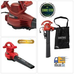 Electric Leaf Blower Vacuum Machine 12-Amp Lawn Yard Mulcher