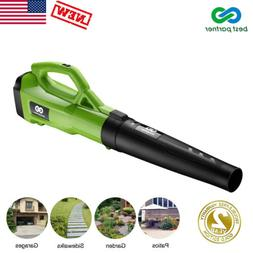 Electric Leaf Blower Vacuum Sweeper 120MPH 465CFM 2Speed Con
