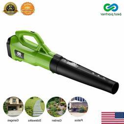 Electric Leaf Blower Vacuum Sweeper Powerful 120MPH 465CFM 2