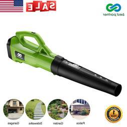 Electric Leaf Blower Vacuum Sweeper Powerful 120MPH 465CFM T