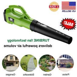 Electric Turbine Powerful Leaf Blower Dynamic Airflow 120MPH