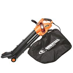 EarthWise FieldSmith by 12-Amp Corded 3-in-1 Wheeled Blower,
