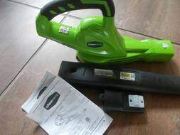 G MAX 40Volt 150 MPH Variable Speed Cordless Leaf Blower Too