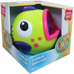 Play Day Green Bubble Blowing Machine Toy