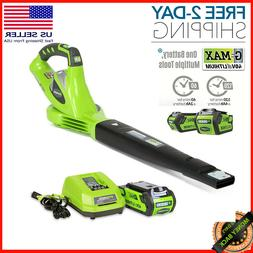 Handle Cordless Leaf Blower 40V 150 MPH Variable Speed 2.0 A