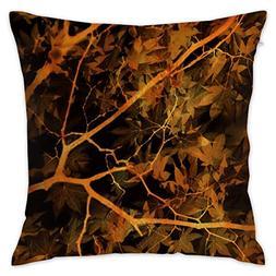 "Oh-HiH 18"" X 18"" Inch Square Throw Pillow Covers Sofa Cushio"