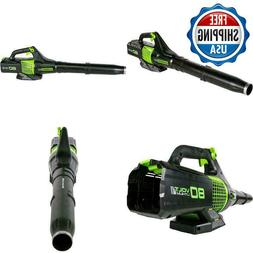 GREENWORKS JET LEAF BLOWER BATTERY AND CHARGER NOT INCLUDED