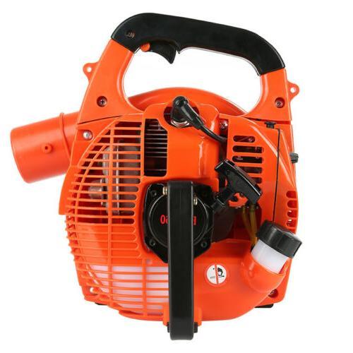 2 Stroke Handheld Garden Yard Gas Petrol Leaf Blower Vacuum
