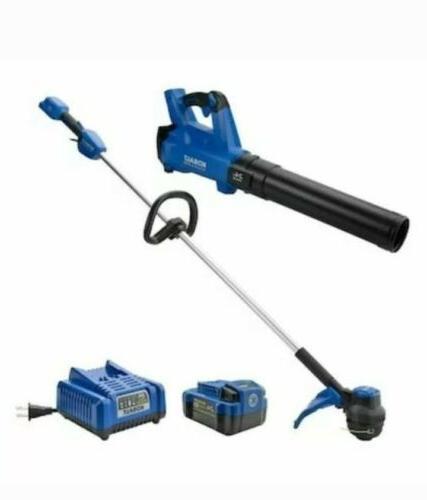 2 piece cordless power equipment combo kit