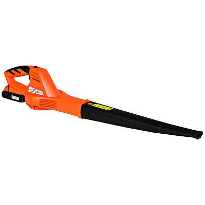 20V 2.0Ah Cordless Leaf Blower Sweeper 130 MPH Blower Batter