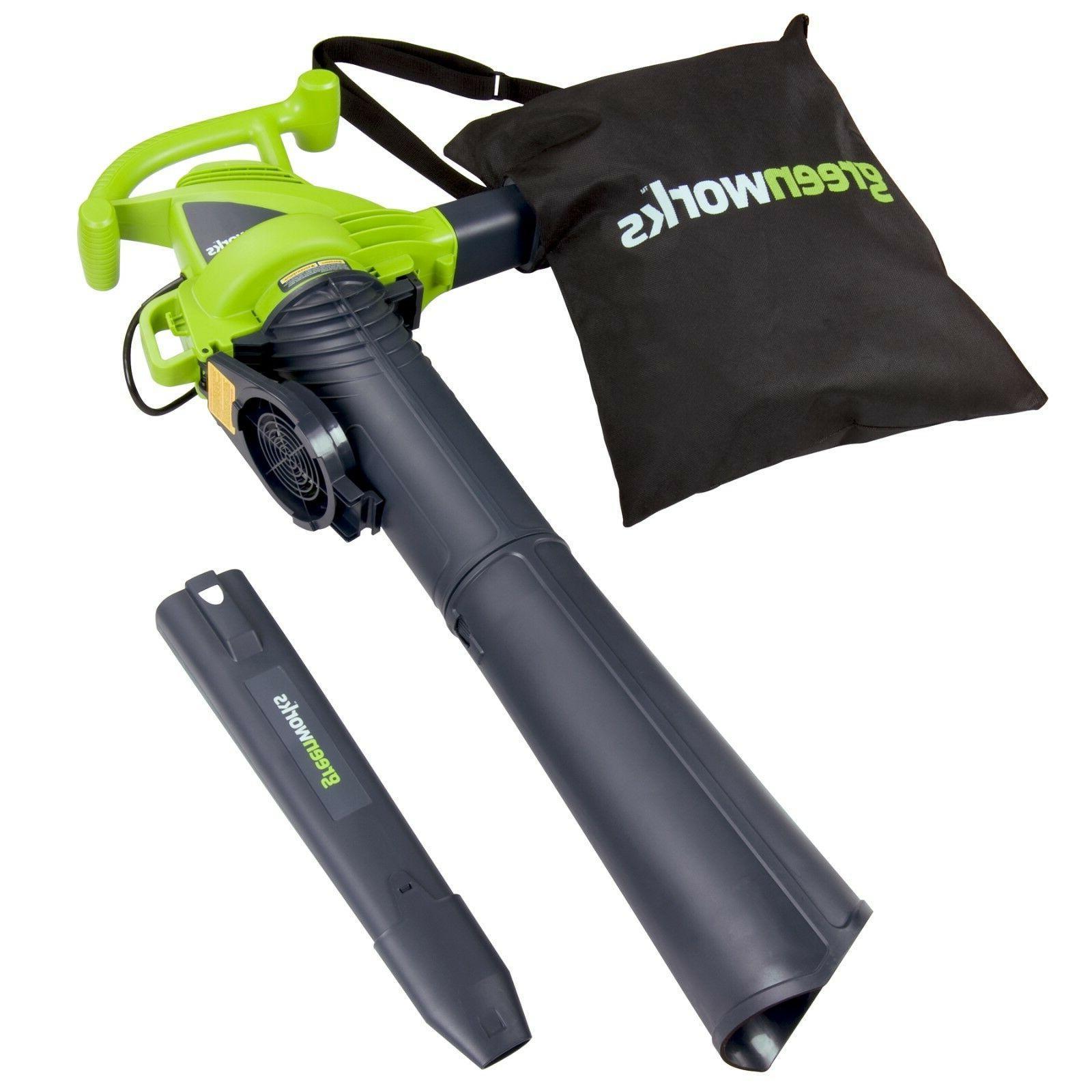 Greenworks 24022 12 Two Speed Blower Vac