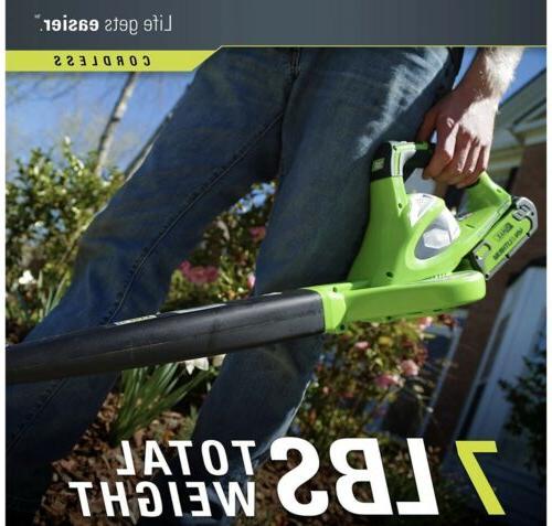 GreenWorks 40-Volt-2.0Ah Lithium-Ion Tool