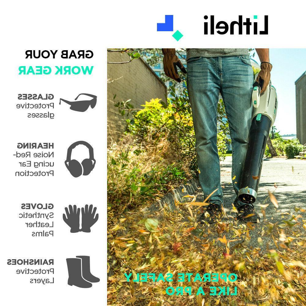 LitheLi Leaf 40V Cordless Brushless Battery