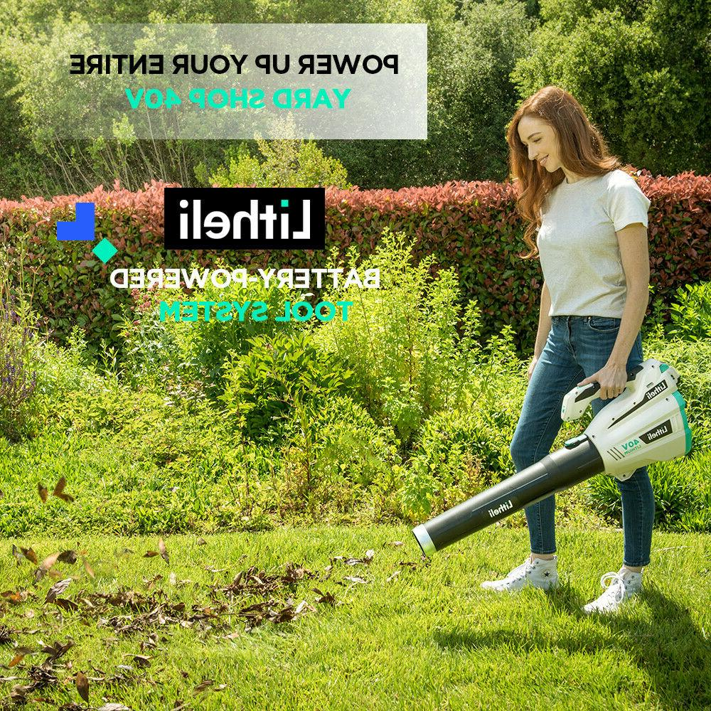 LitheLi 40V Cordless Leaf w/ Battery