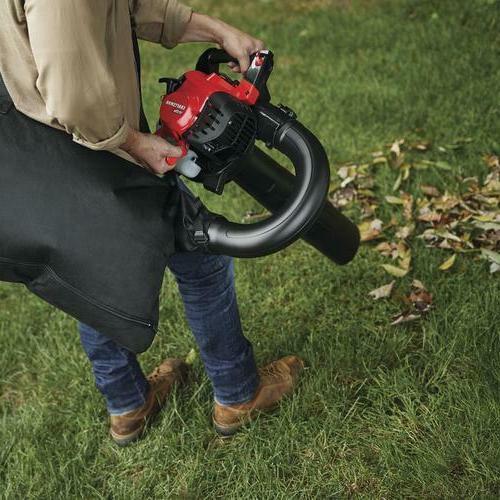 450 Cycle Gas Leaf Vacuum Kit Mulcher Volume Yard