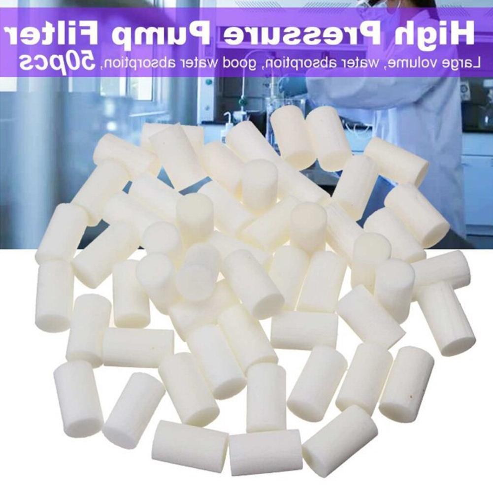 50 Pcs High Pressure Pump Replacement Fiber Cotton Water Abs